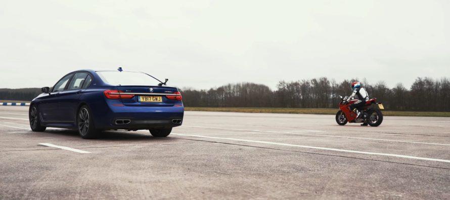 Η BMW M760Li και η Ducati Panigale V4 μετρούν τις δυνάμεις τους (video)
