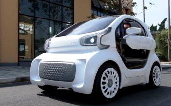 Με 8.000 ευρώ αυτοκίνητο από τρισδιάστατο ψηφιακό εκτυπωτή (video)