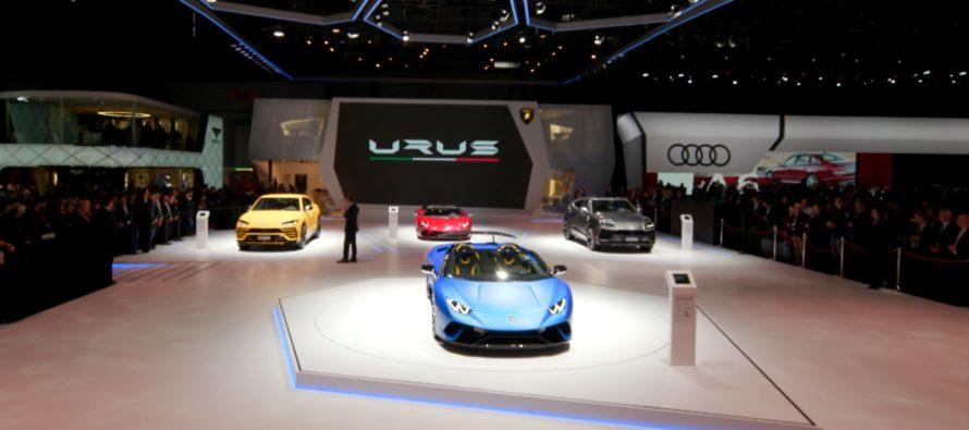 Δείτε το περίπτερο της Lamborghini στο Σαλόνι της Γενεύης (video)