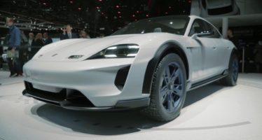 Η ηλεκτροκίνητη Porsche Mission E βγαίνει στο χώμα (video)
