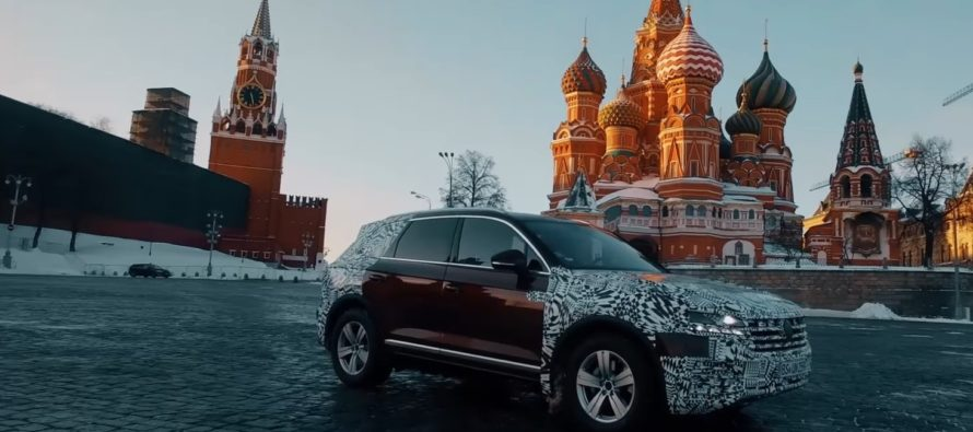 Το νέο Volkswagen Touareg ταξιδεύει από τη Σλοβακία στην Κίνα (videos)
