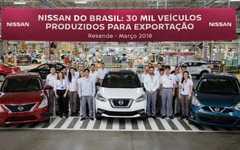 Άνοδος στις εξαγωγές της Nissan από τη Βραζιλία
