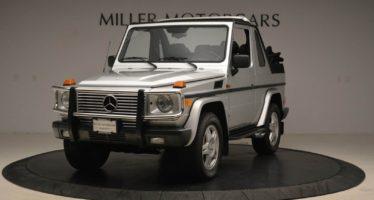 Η Mercedes G500 Convertible αξίας άνω των 180.000 ευρώ