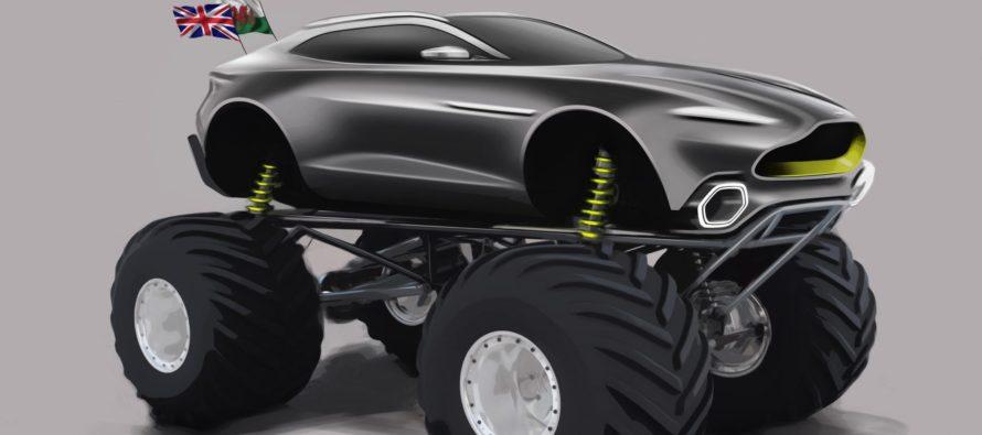Το θηριώδες SUV της Aston Martin εμπνευσμένο από την Σπάρτη