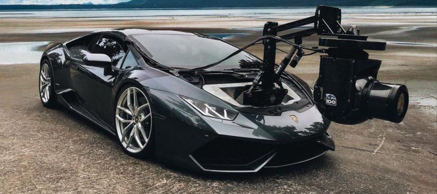 Η Lamborghini Huracan ανέλαβε καθήκοντα κάμεραμαν