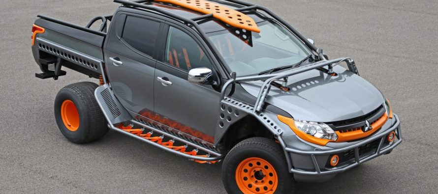 Ένα Mitsubishi L200 για το Fast and The Furious
