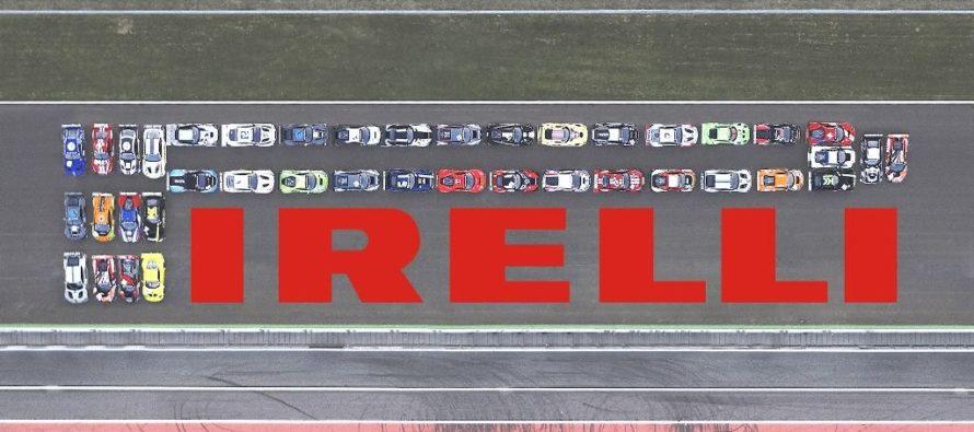 Το λογότυπο της Pirelli από 41 αγωνιστικά αυτοκίνητα (video)