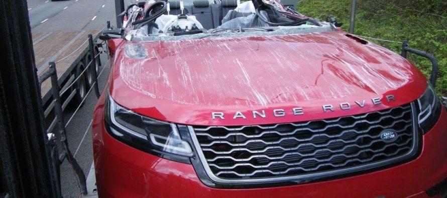 Ξήλωσε ολόκληρη την οροφή ενός Range Rover Velar
