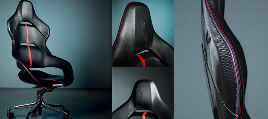 Βάλτε το κάθισμα της Ferrari στο γραφείο σας