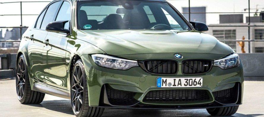 H BMW M3 με πράσινη στρατιωτική απόχρωση