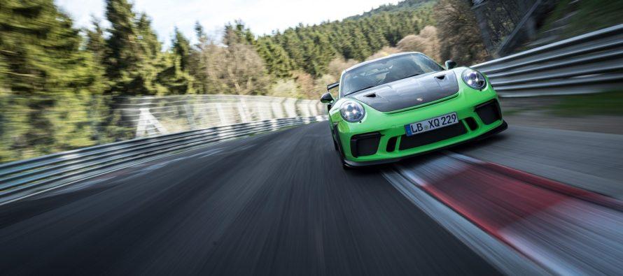 Ρεκόρ χρόνου από την Porsche 911 GT3 RS (video)
