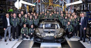 Πόσο καιρό πήρε η παραγωγή 300 αγωνιστικών Lamborghini Huracan;