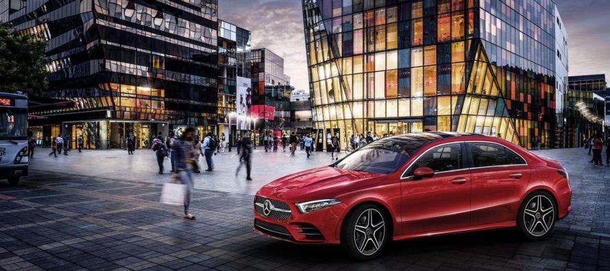 Η νέα Mercedes A-Class L Sedan καταλαβαίνει κινέζικα (video)