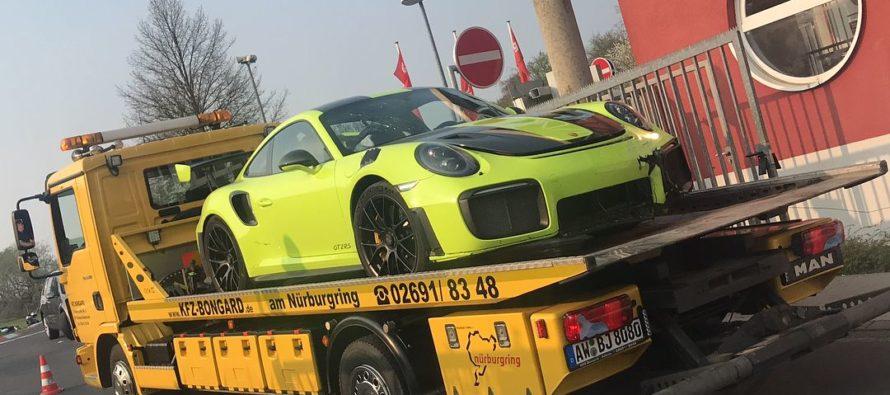 Ατύχημα εντός πίστας για την Porsche 911 GT2 RS