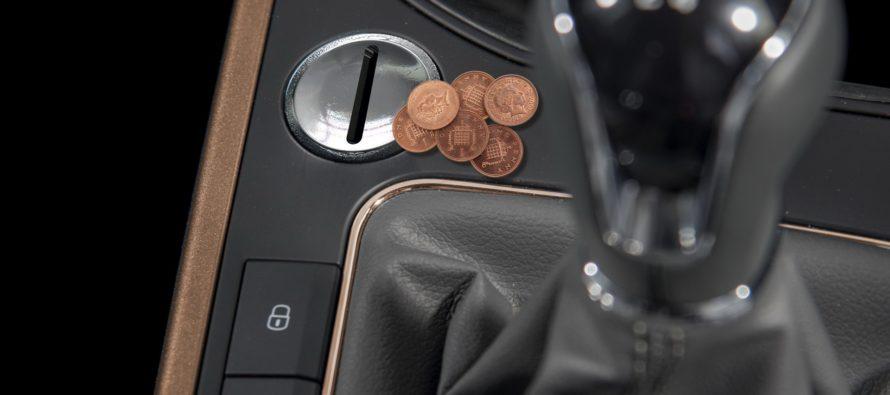 To SEAT Arona δέχεται κέρματα για να πάρει εμπρός