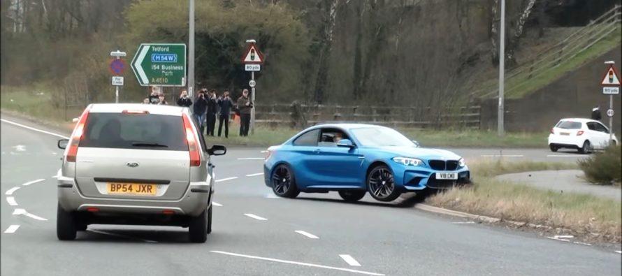 Ο ατζαμής οδηγός μιας BMW M2 (video)