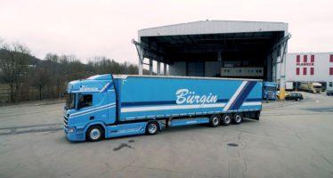 To φορτηγό Scania R 500 καταναλώνει λιγότερο καύσιμο (video)