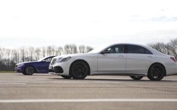 Αναμέτρηση ανάμεσα σε Mercedes-AMG S63 και BMW M760Li (video)