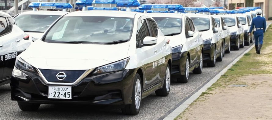 Σε ποια χώρα το ηλεκτροκίνητο Nissan Leaf έγινε περιπολικό; (video)