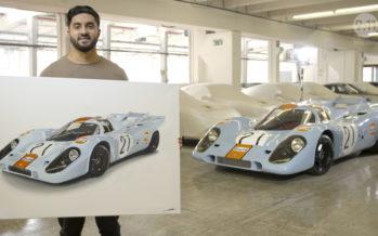 Ζωγραφίζοντας την Porsche 917 (video)