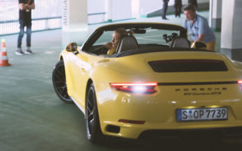 Η Μαρία Σαράποβα σε δοκιμασία παρκαρίσματος της Porsche (video)