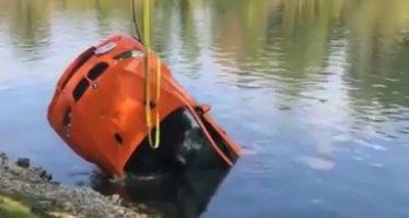 Μια BMW M3 GTS στο βυθό λίμνης (video)