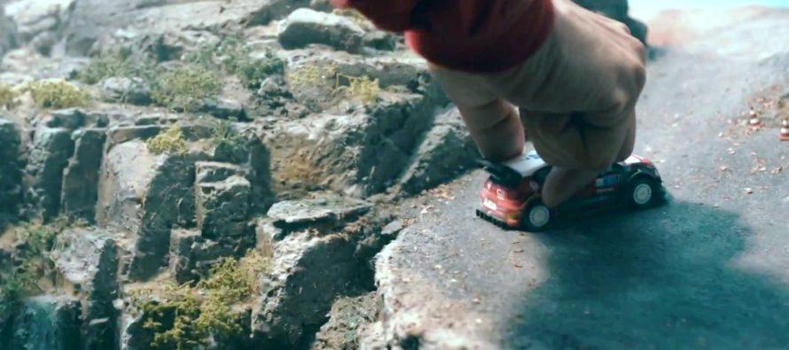 Ο Σεμπαστιάν Λεμπ παίζει με μινιατούρα του Citroen C3 WRC (video)