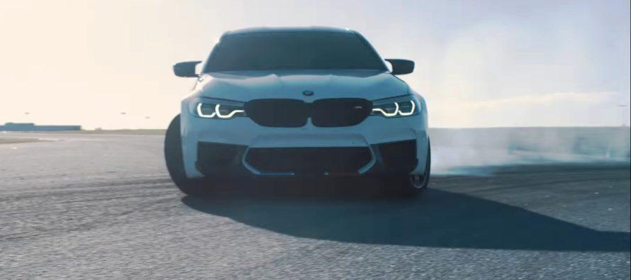 Μια μητέρα οδηγεί την BMW M5 στην πίστα (video)