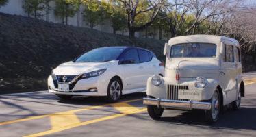 Το πρώτο ηλεκτροκίνητο μοντέλο της Nissan ηλικίας 71 ετών (video)