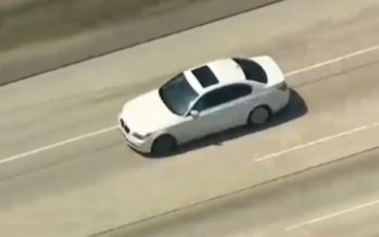 Παρακολουθήστε την καταδίωξη μιας BMW από ελικόπτερο (video)