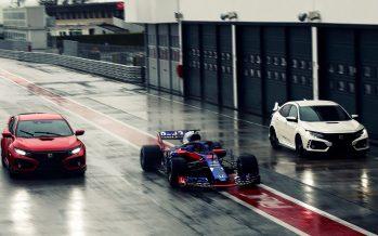 Πιλότοι της Formula 1 επέλεξαν το Honda Civic Type-R