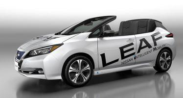 Ηλεκτροκίνητο και cabrio το Nissan Leaf