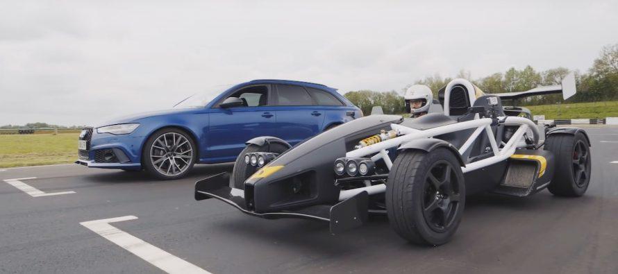 Φτάνει το Ariel Atom 3.5R στην ευθεία το Audi RS6; (video)