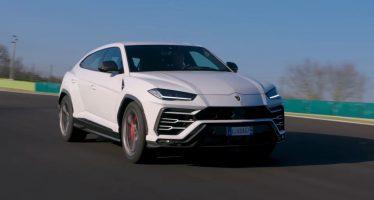 Δείτε την Lamborghini Urus μέσα στην πίστα (video)