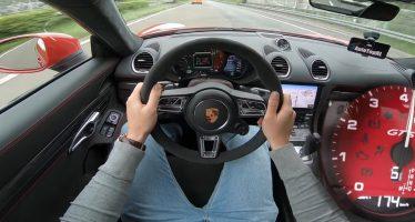 Η Porsche 718 Cayman GTS πιάνει 294 χλμ./ώρα σε αυτοκινητόδρομο (video)