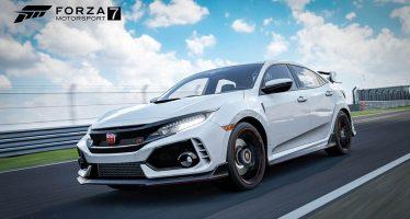 Το Honda Civic Type R σε βιντεοπαιχνίδι (video)