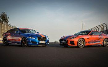 Οι Jaguar F-Type SVR και XJR575 έγιναν ταξί