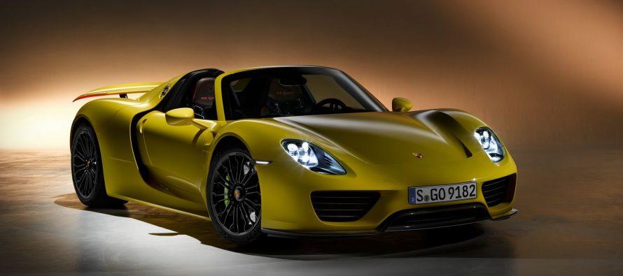 Ανακαλείται η Porsche 918 Spyder λόγω προβλήματος στην ανάρτηση