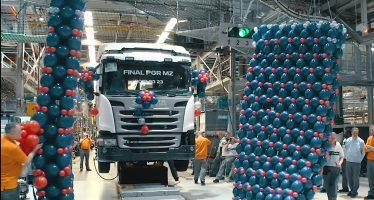 Δείτε πως η Scania κατασκευάζει μια καμπίνα φορτηγού (video)