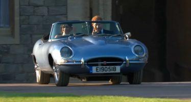 Ο Πρίγκιπας Χάρι οδήγησε την Jaguar E-Type (video)