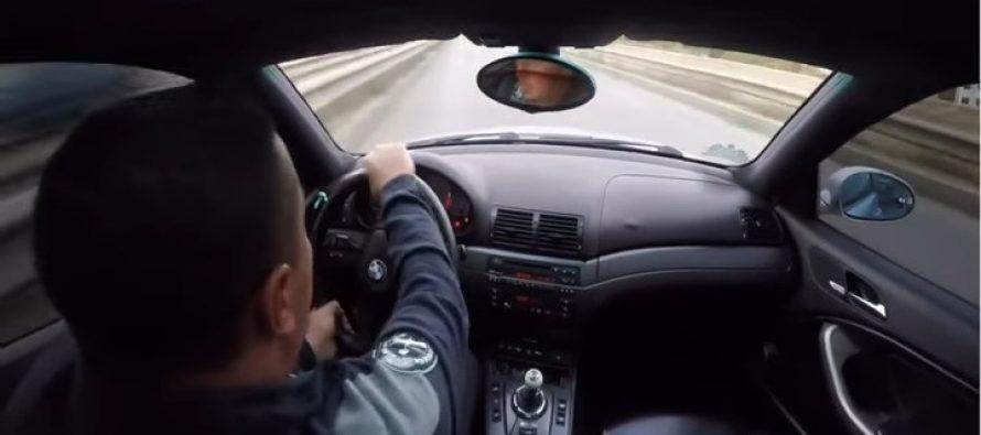 Χάνοντας τον έλεγχο μιας BMW M3 (video)