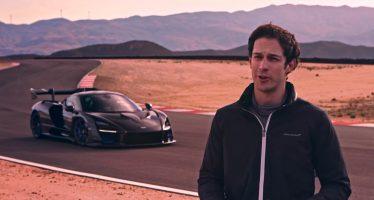 Η McLaren Senna και ο συνονόματος της στην πίστα (video)