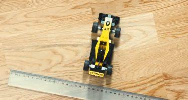 Το μονοθέσιο της Renault από Lego (video)