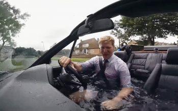 Μια BMW που γίνεται και πισίνα (video)