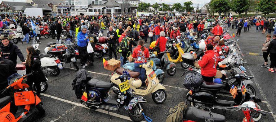 Παρέλαση από Vespa με 3.000 συμμετοχές