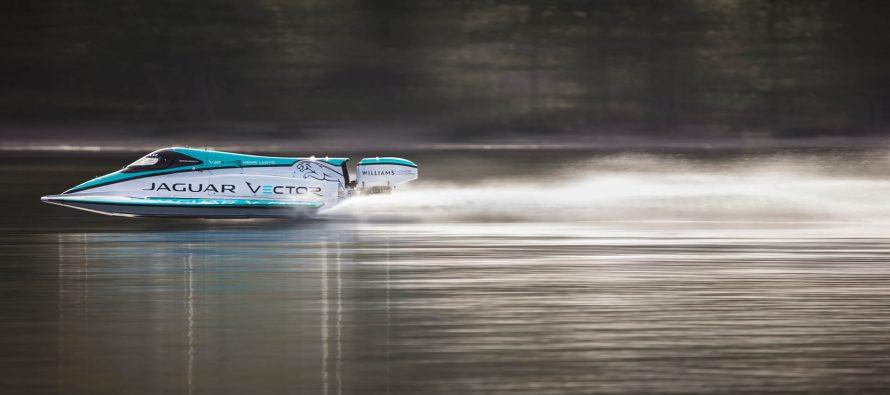Η Jaguar κατασκεύασε τo ταχύτερο ηλεκτρικό σκάφος στον κόσμο (video)