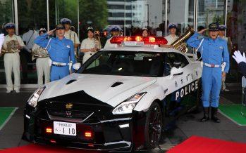 Περιπολικό Nissan GT-R με 572 ίππους