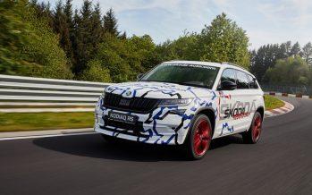 Το ταχύτερο επταθέσιο SUV είναι το Skoda Kodiaq RS (video)