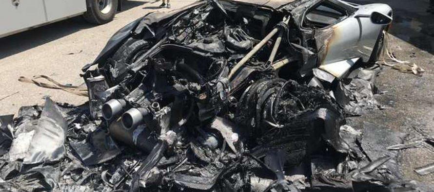 Κάηκε ένα Ford GT που είχε διανύσει 70 χλμ.