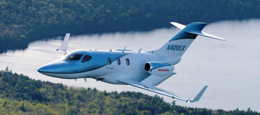 Ελάτε μια βόλτα με το νέο αεροσκάφος της Honda (video)